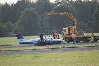 Buiklanding op  Airport Eelde(Video)