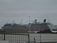 Cruiseschip in Eemshaven aangekomen