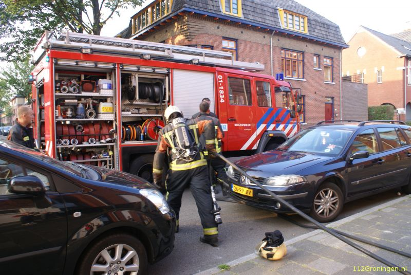 Keukenbrand snel onder controle in stad