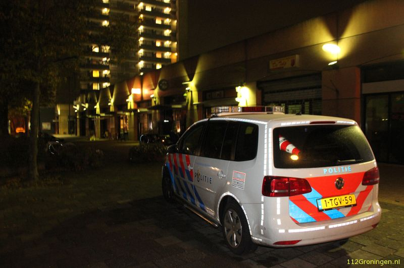 Overval op snackbar Plaza in Selwerd (Video)