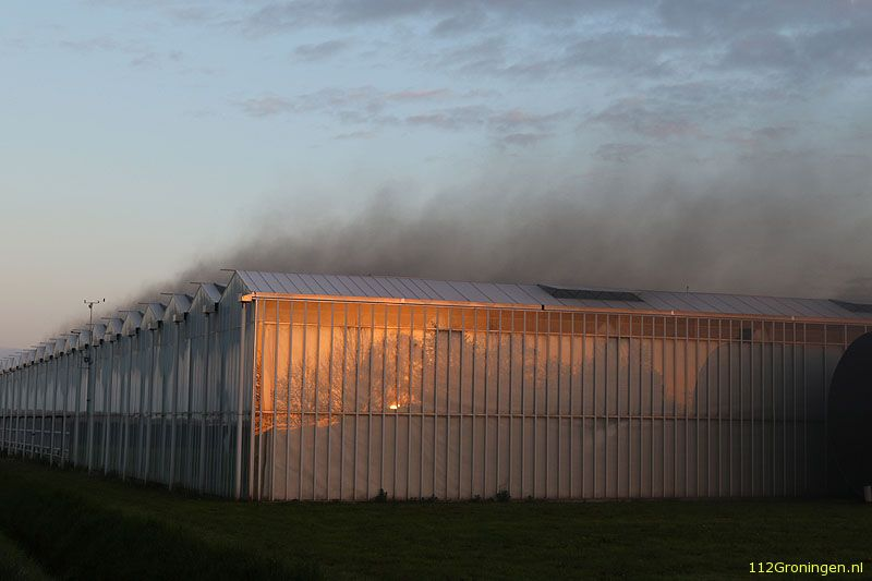 Brand in kassencomplex in Sappemeer (Video)