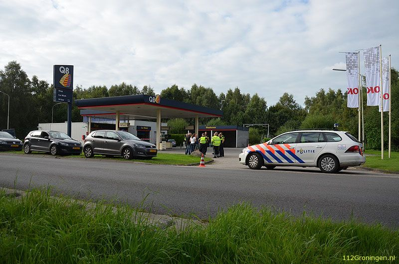 Gewapende overval op tankstation Ter Apel (Video)