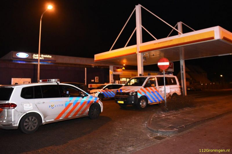 Overval op Shell in Tolbert (Video)