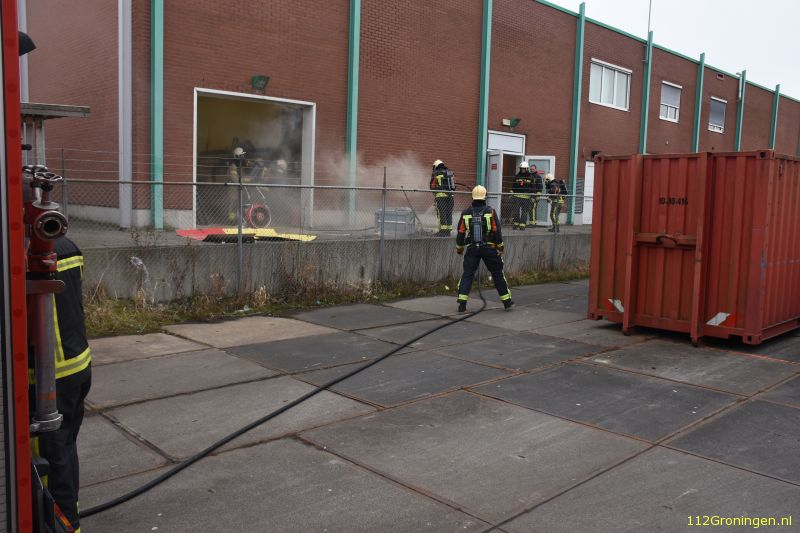 Brand in zagerij van de Praxis (Video)