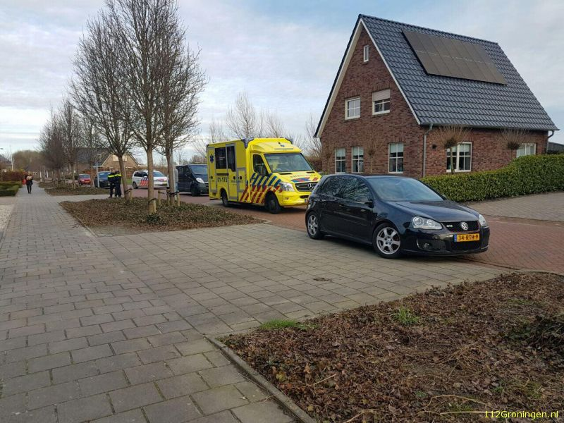 Ongeval letsel Appingedam
