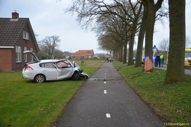 Forse crash bij Sellingen (Video)