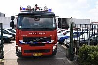 Forse schade na scooterbrand in loods Rouaanstraat