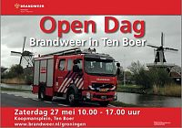 Zaterdag 27 mei open dag in Ten Boer