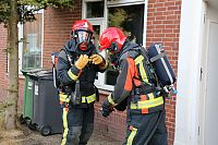 Keukenbrand snel onder controle