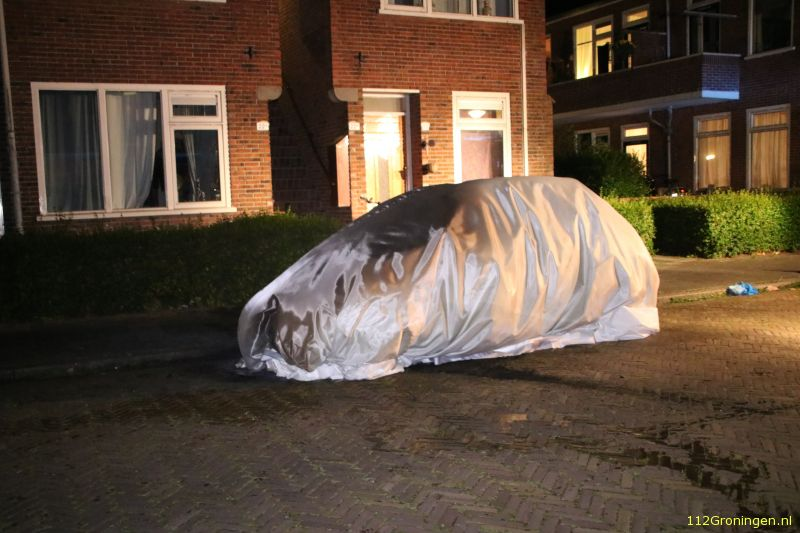 Brandstichting in de Gerard ter Borchstraat (Video)