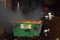 Forse containerbrand in Ten Post (Video)