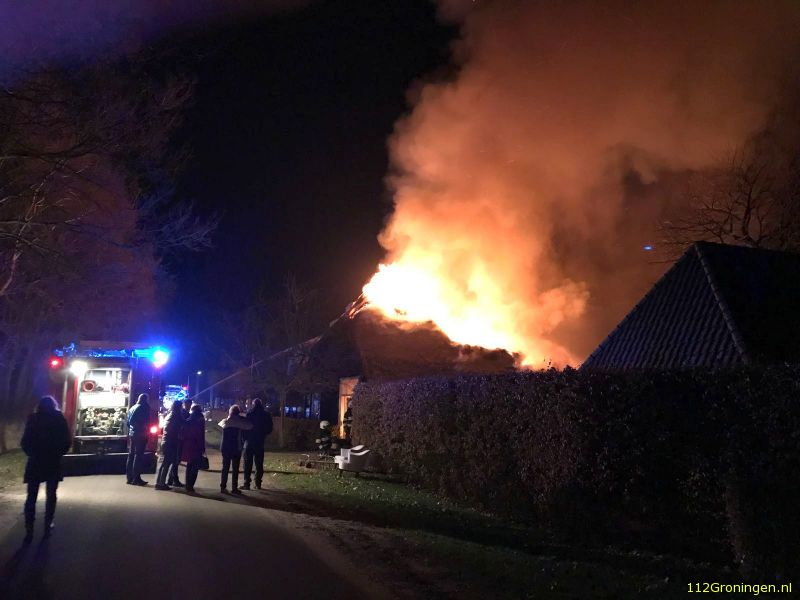 Uitslaande brand in drentse Westervelde (Video)
