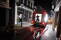 Grote brand in centrum van Appingedam onder controle