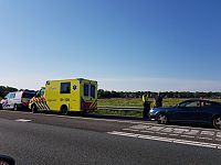File op A7 na ongeval