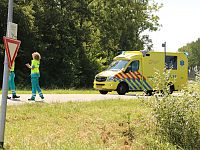 Traumahelikopter inzet in Wagenborgen