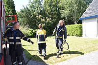 Brand in schuurtje snel onder controle