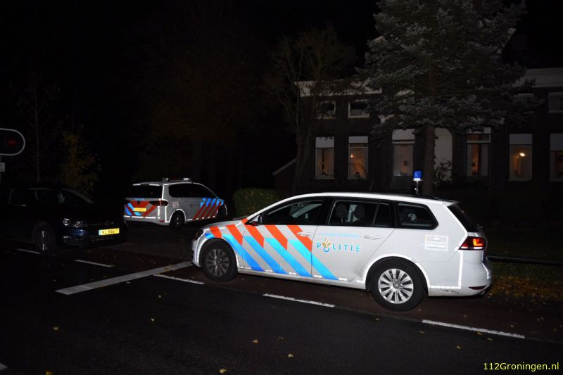Woningoverval in Scheemda door messentrekker