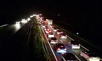 Ongeval A7 zorgt voor file