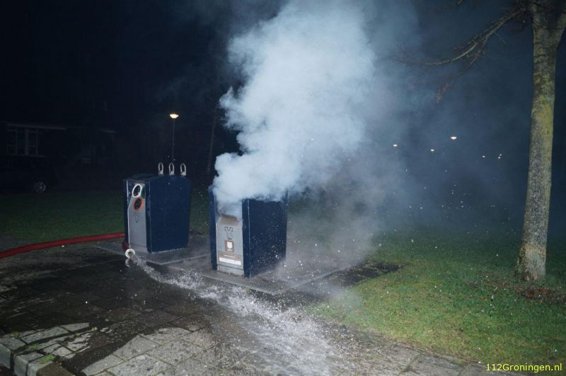 Containerbrand Zuidwolde