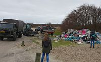 Opruim actie in volle gang op Schiermonnikoog (Video)