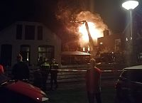 Grote brand in Sappemeer (2x Video)