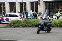 Scooter contra auto op Helperpark
