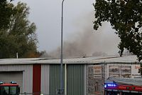 Grote brand in loods Wildervank (Video)
