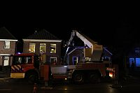 Schoorsteenbrand in Hoogezand (Video)