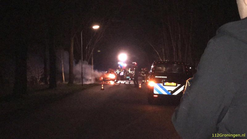 Autobrand in Harkstede (Video)