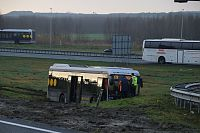 Bus A7 inmiddels geborgen (2x Video)