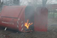 Containerbrand Stadspark snel geblust