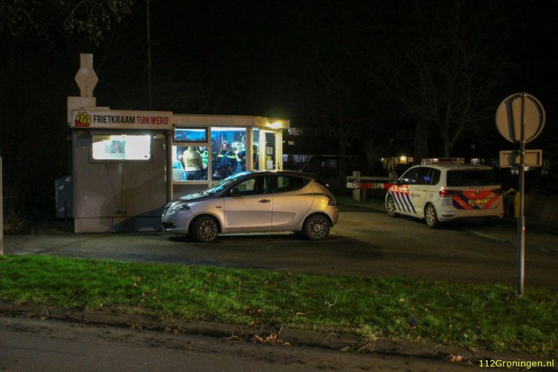 Overval op cafetaria in Delfzijl (Video)