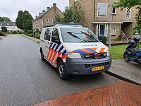 Auto contra scooter in Haren