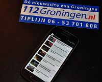 Download ook de 112Groningen App & Lay Out