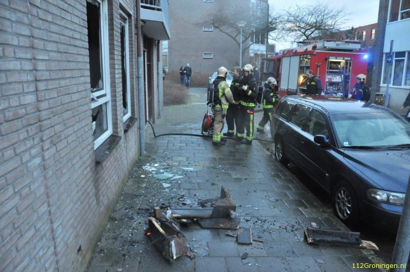 brand in de marwixstraat