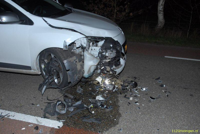 Fors ongeval in Opende.