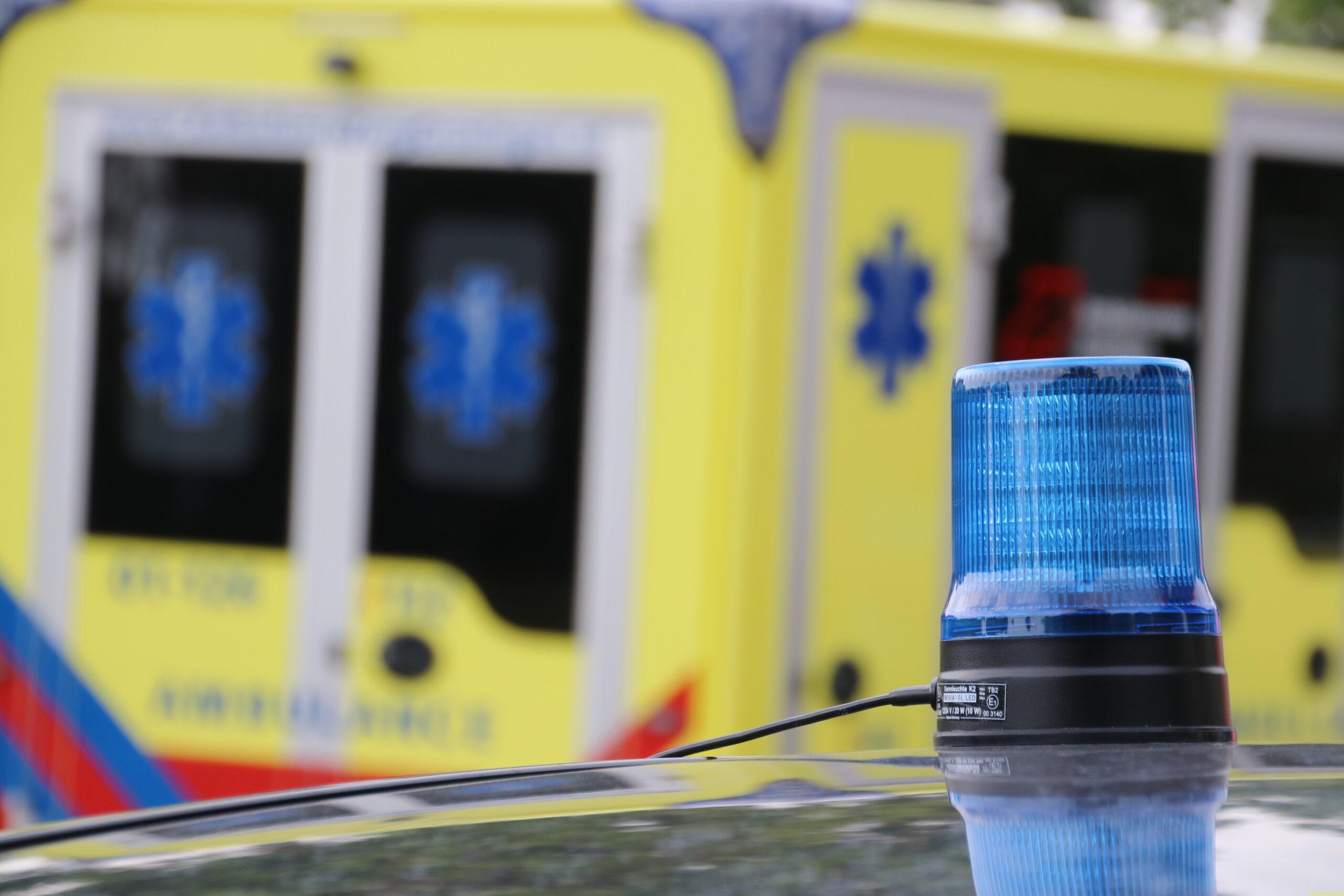 Vrouw komt om het leven bij ernstig ongeval op N969 bij Blijham.