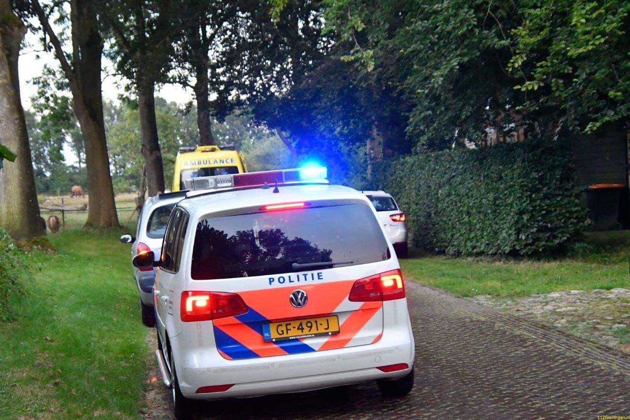 Scooterrijder gewond bij eenzijdig ongeval in Donderen.