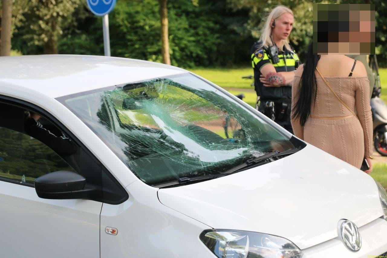 Fietser raakt gewond bij ongeval Kluiverboom Groningen.
