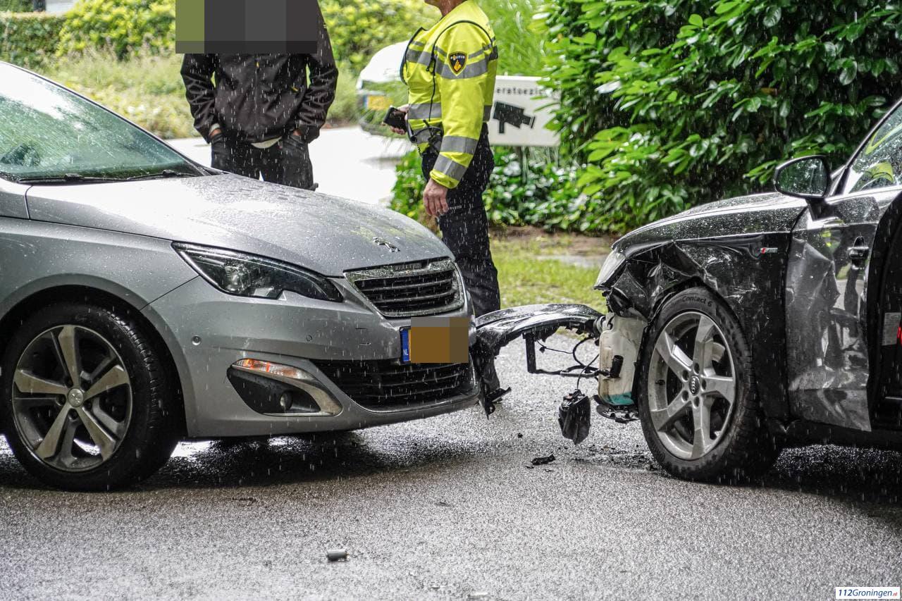 Ongeval nabij vakantiepark De Bloemert in Midlaren.