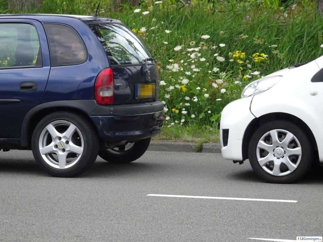 Vier voertuigen betrokken bij kop-staart ongeval Malmoweg.