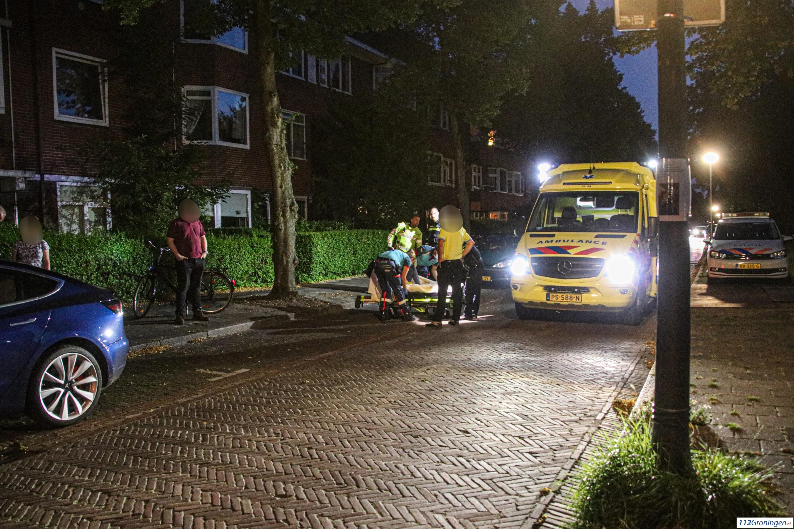Vrouw gewond bij verkeersongeluk Star Numanstraat.