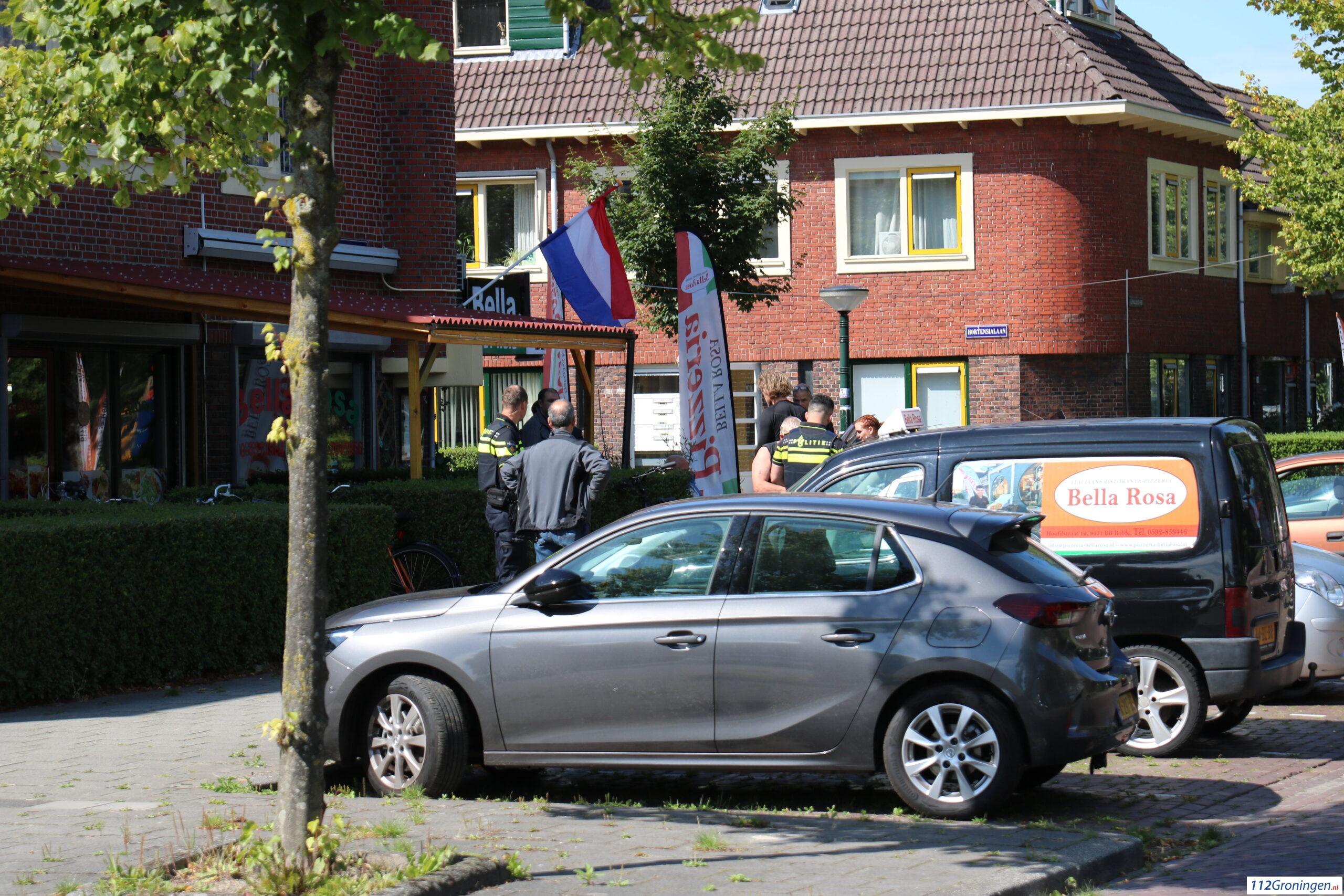 Fietser raakt gewond bij aanrijding op Oliemuldersweg.