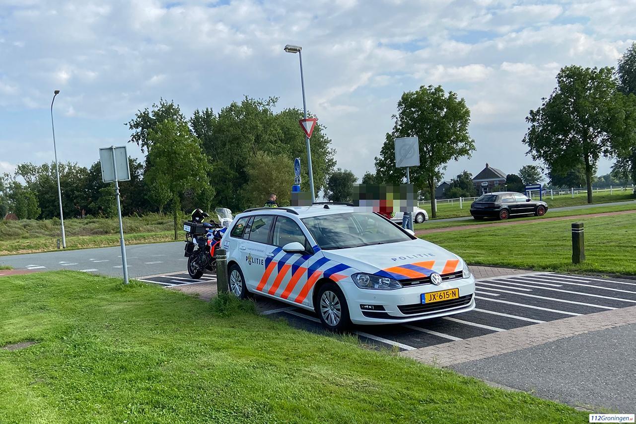 Aanrijding tussen automobilist en fietser in Delfzijl.