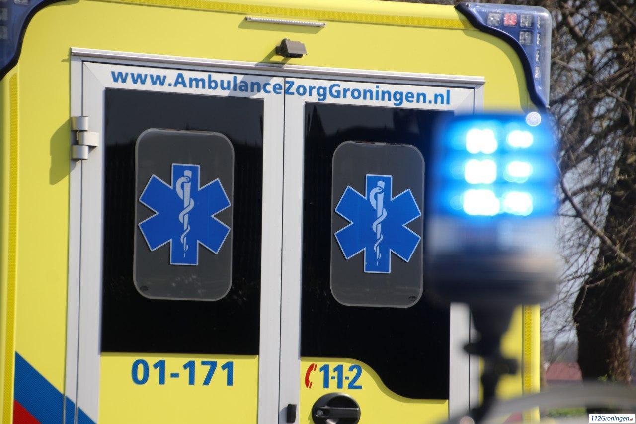 Auto slaat meerdere keren over de kop bij ongeval in Gasselternijveen, bestuurder slechts licht gewond.
