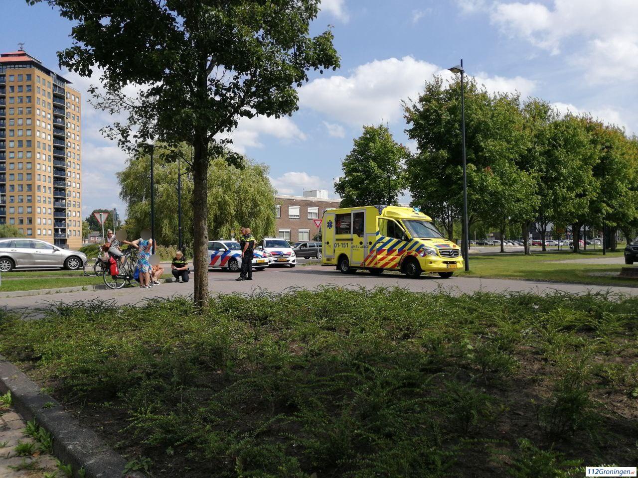 Persoon met spoed naar ziekenhuis na aanrijding in Stadskanaal.