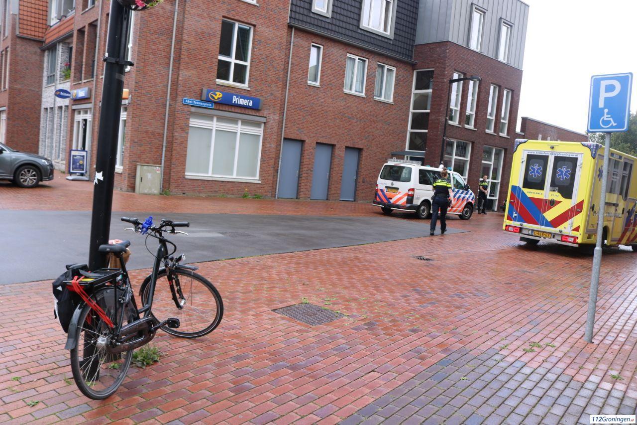 Fietser raakt licht gewond bij aanrijding in Grootegast.