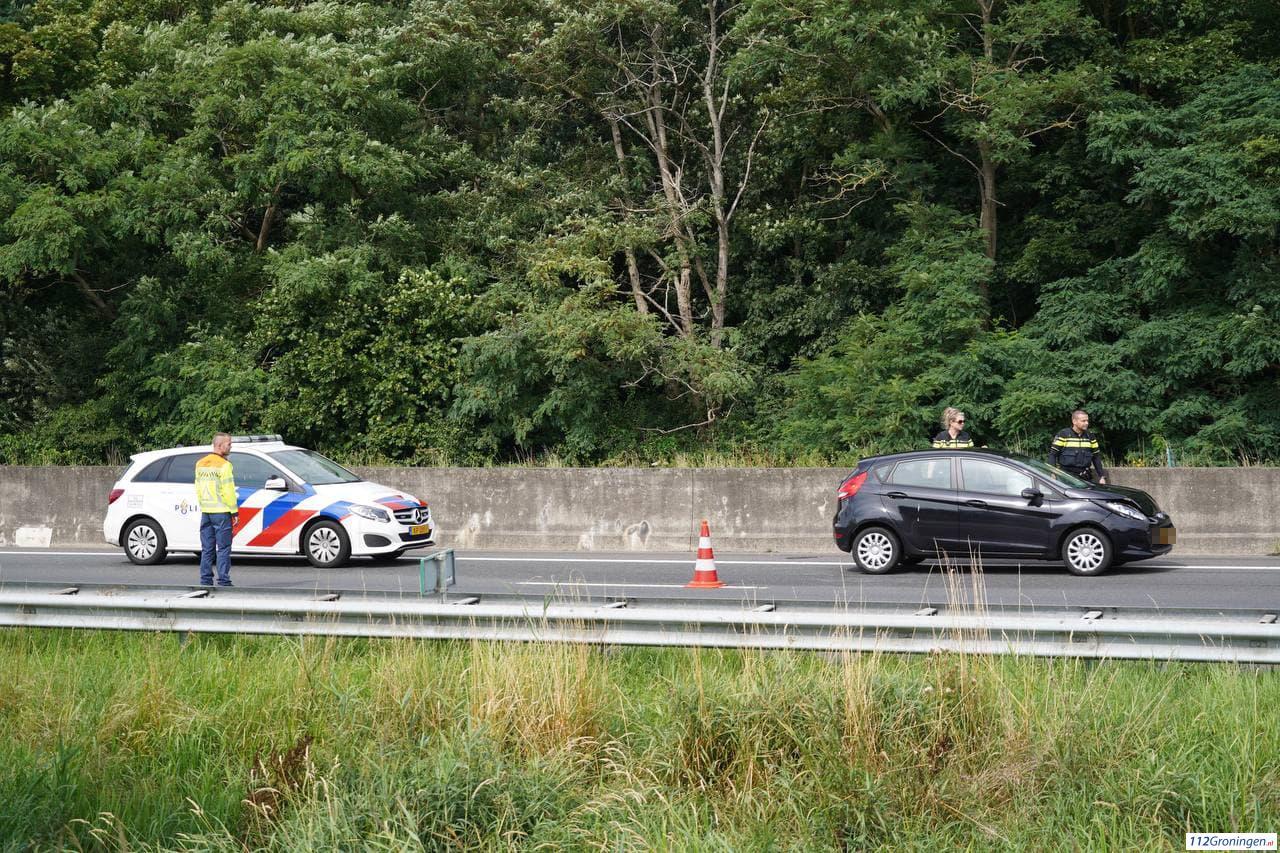 Opnieuw ongeluk met meerdere voertuigen op A28, snelweg deels afgesloten.