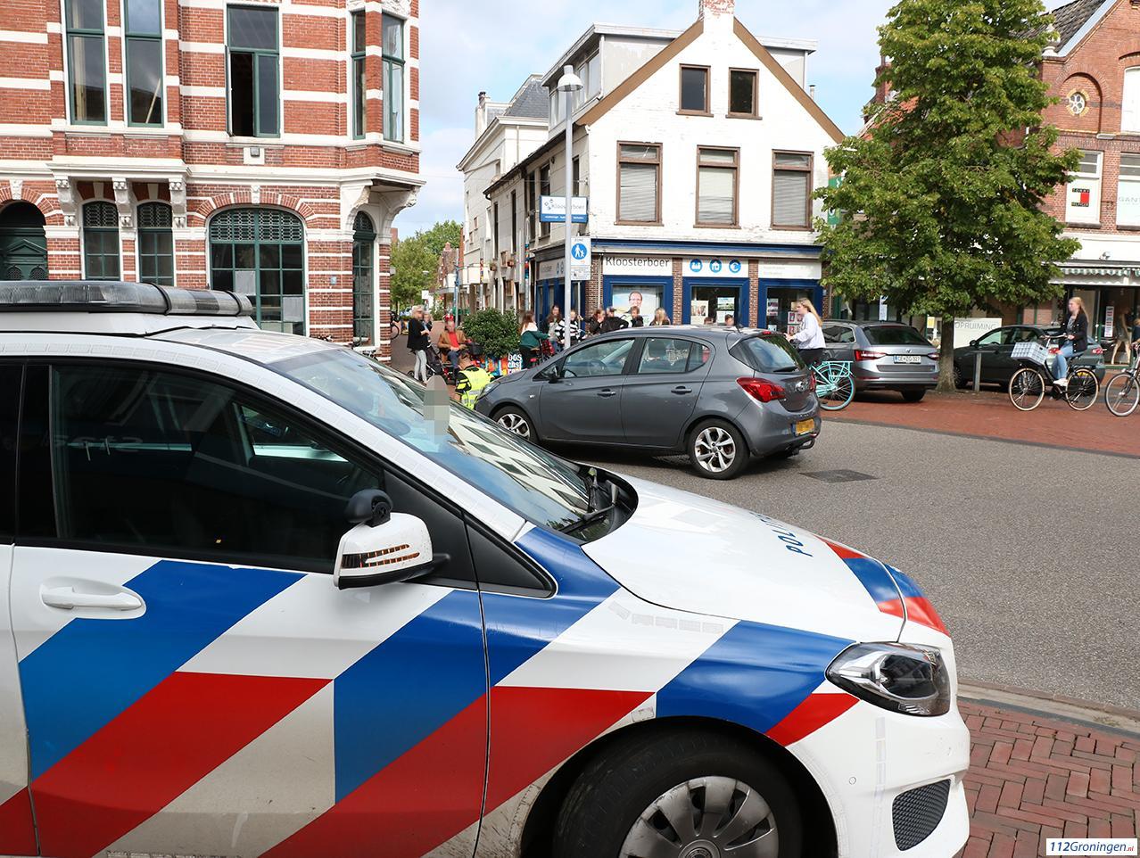 Fietsster gewond bij aanrijding met automobilist in Winschoten.