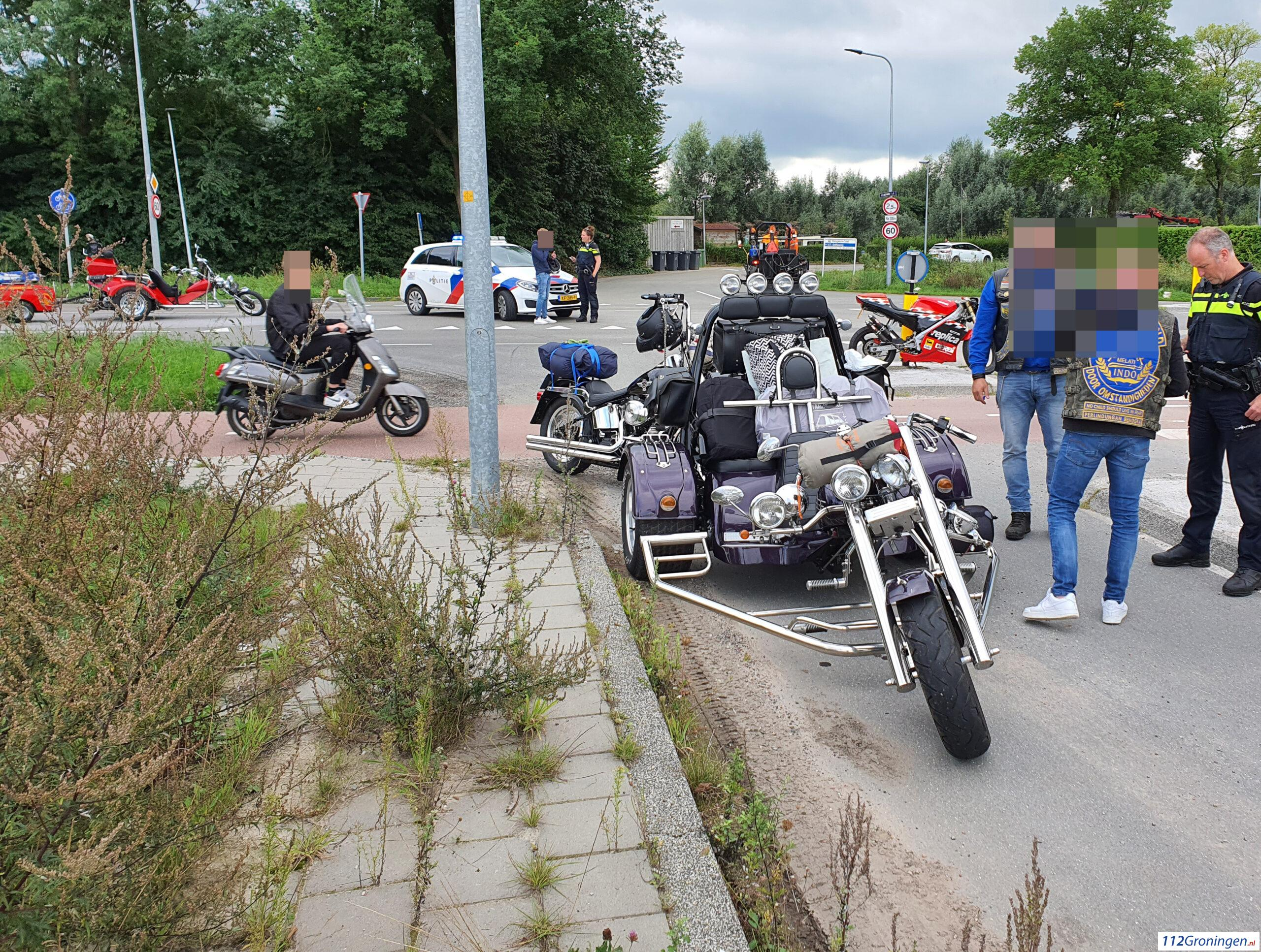 Ongeval tussen trike en brommer U.T. Delfiaweg.